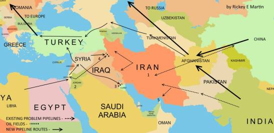 middle-east-oil-pipelines