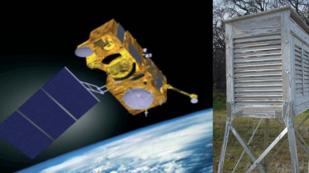 satellite-v-thermometer