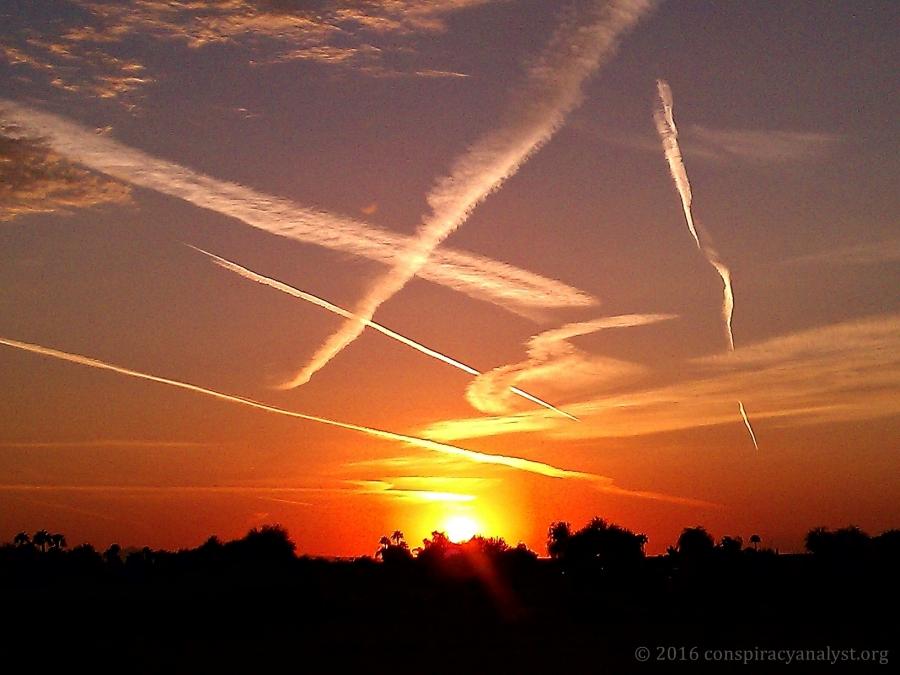 chemtrail-sunset