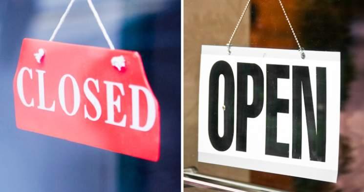 open-closed