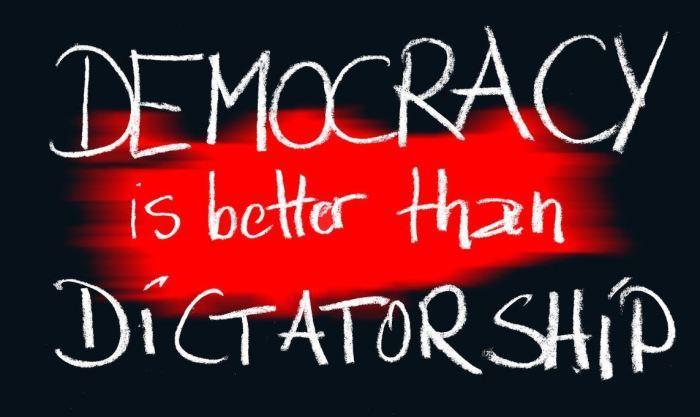 democracy-dictatorship