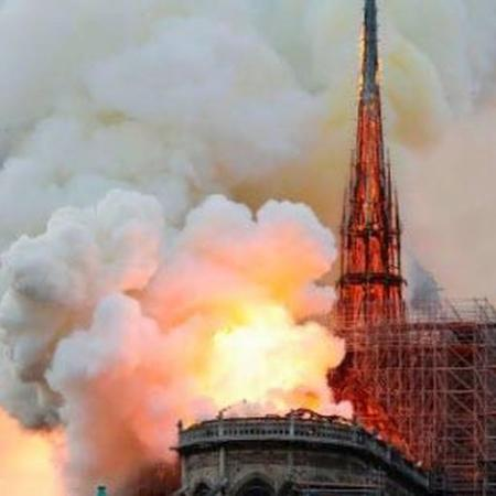 Notre Dame fire April 15, 2019