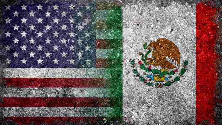 us-mexican-flags