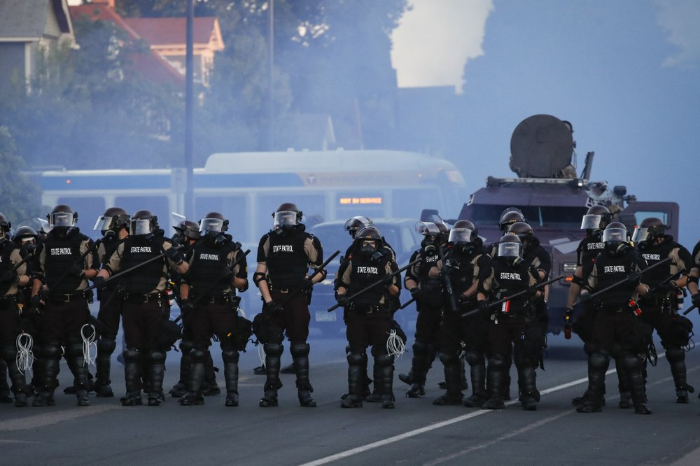 In repressive states across the world, I have often watched with deep dismay the response of foreign military and police forces towards political refo