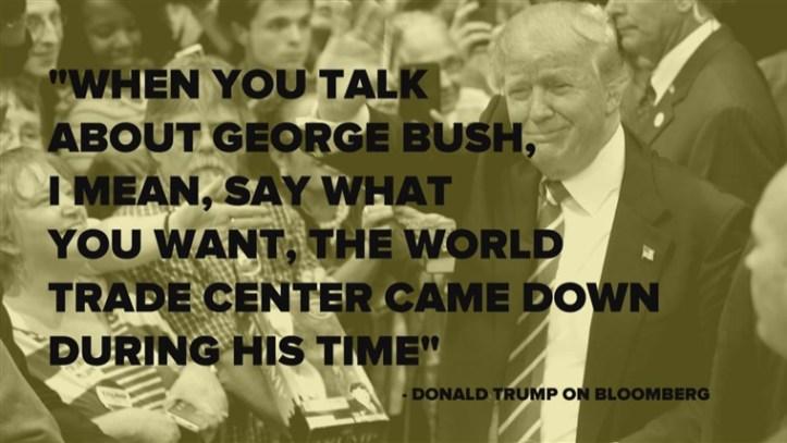 trump-bush-911
