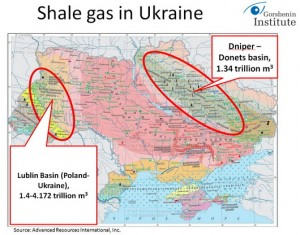 Fracking in Ukraine is a huge investment opportunities for the US companies. This is also reason why USA is so interested in Ukraine and its political developments.