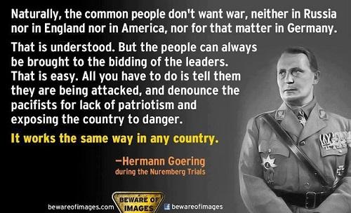 Goering Quote