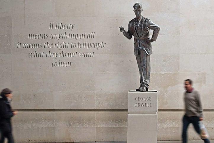 orwell-statue